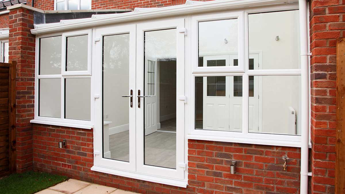 Double glazing norwich norfolk windows plus uk for Upvc french doors