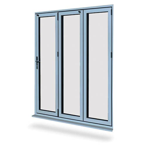 Aluminium bi-folding-doors Norwich