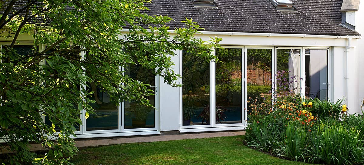 aluminium bi-fold doors Norwich and Norfolk